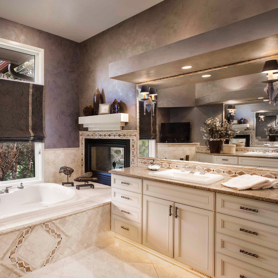 Bathroom designed by DeWitt