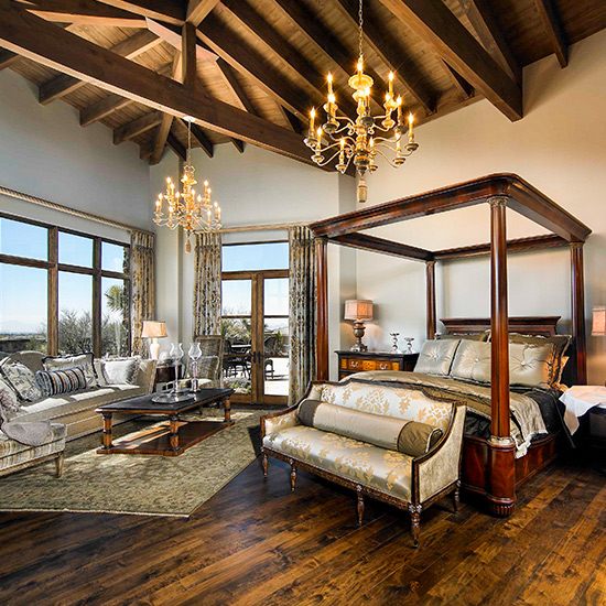Bedroom designed by DeWitt