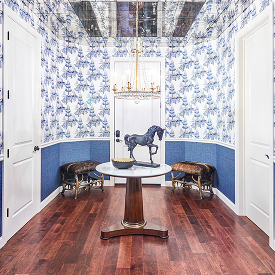 Hallway designed by DeWitt