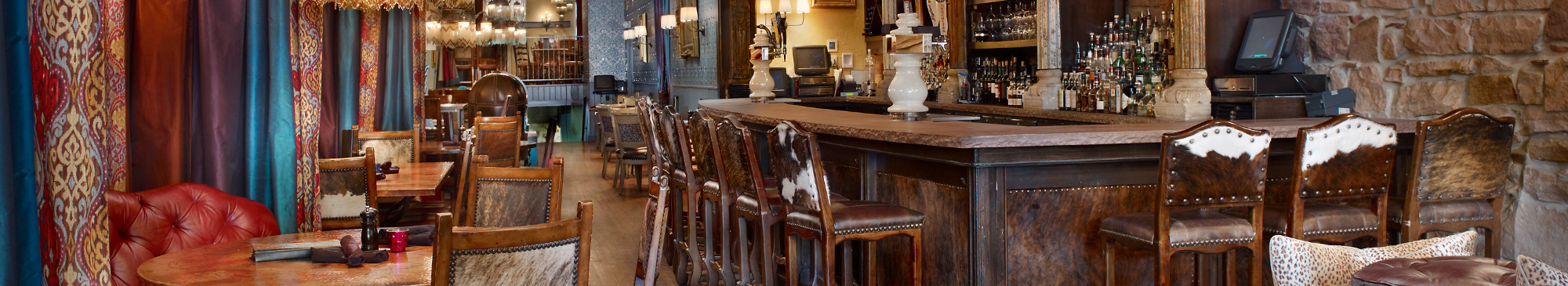 Crawford's bar and restaurant designed by DeWitt