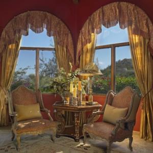 Persian living corner designed by DeWitt