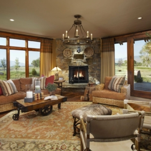 Living room designed by DeWitt